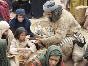 Jesus Feeds the Four Thousand