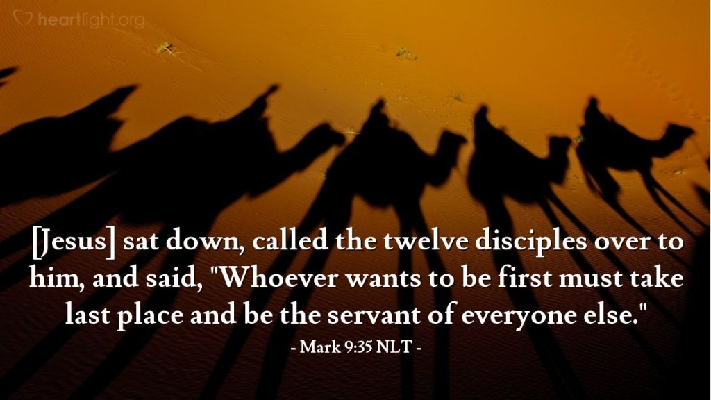 Scripture Illustration of Mark 9:35