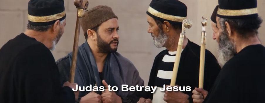 Judas to Betray Jesus