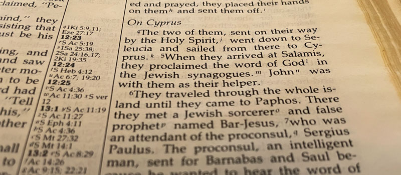 Acts 12:24-13:15