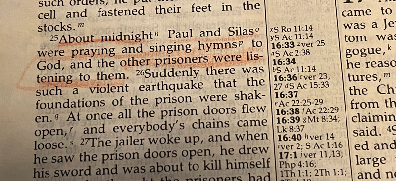 Acts 16:16-40