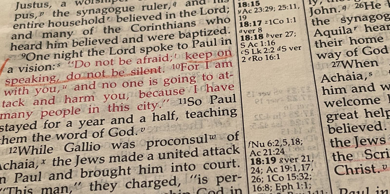 Acts 18:1-22