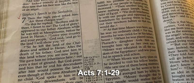 Acts 7:1-29
